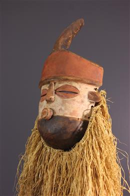 Tribal art - Zombo circumcision mask