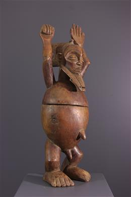 Hemba anthropomorphic box