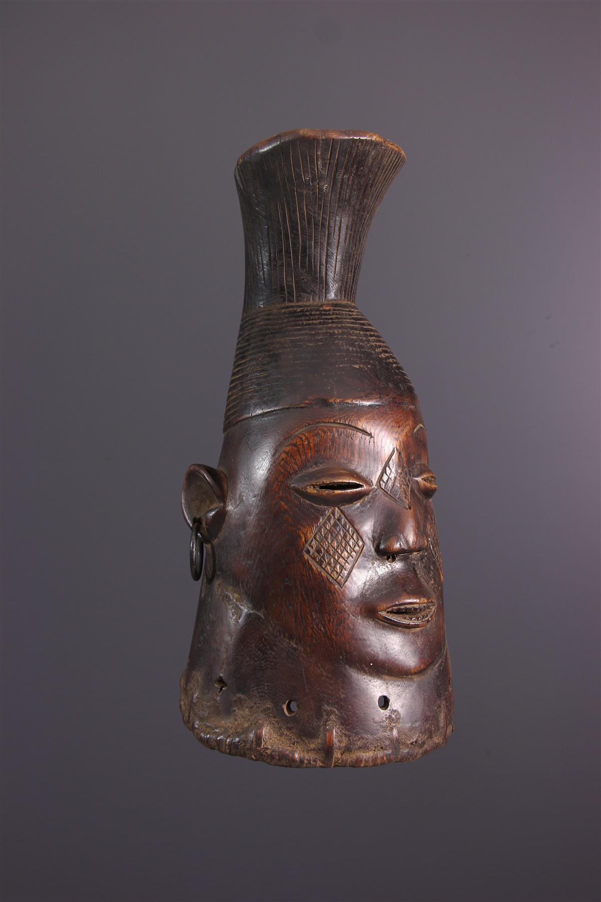 Mangbetu Mask - Tribal art