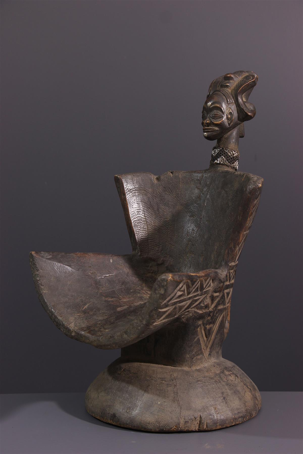 Chokwe Seat - Tribal art