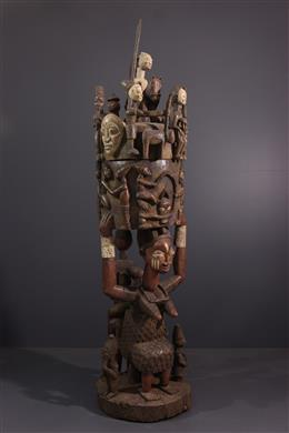 Tribal art - Yoruba Monumental Cup