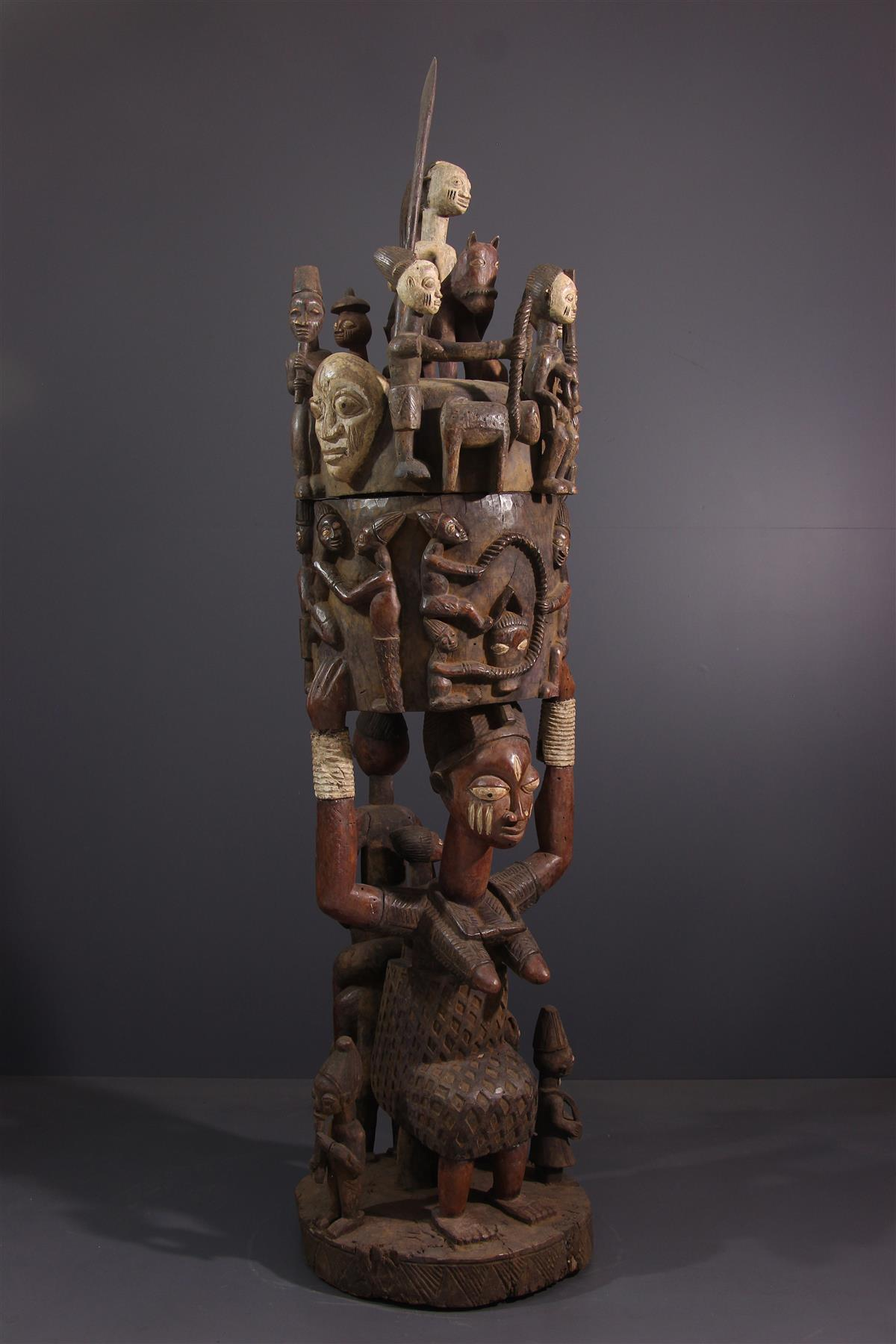 Yoruba Cup - Tribal art