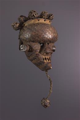 Tribal art - Mask Salampasu Mukinka