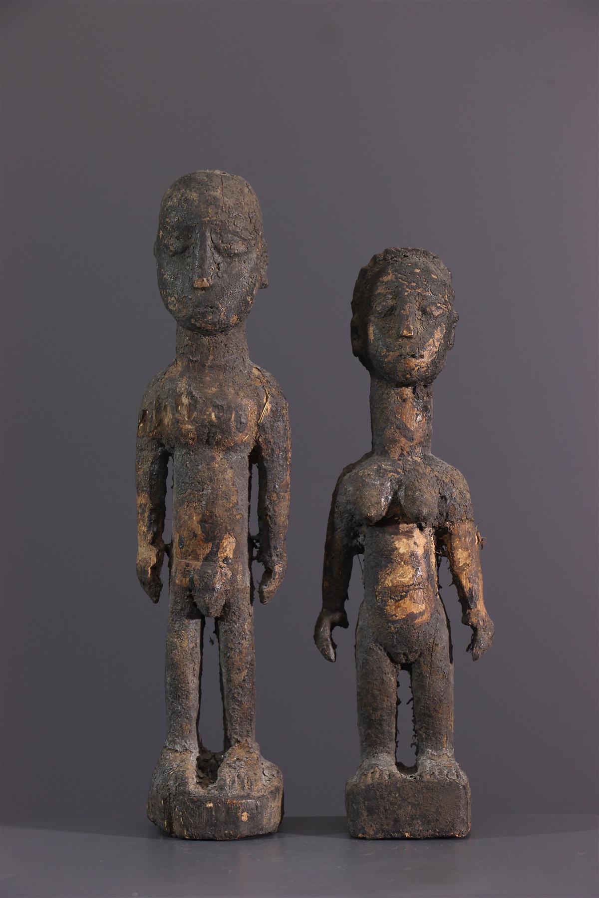 Ewe Fetishes - Tribal art