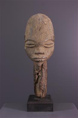 Tribal art - Lobi altar head-spin