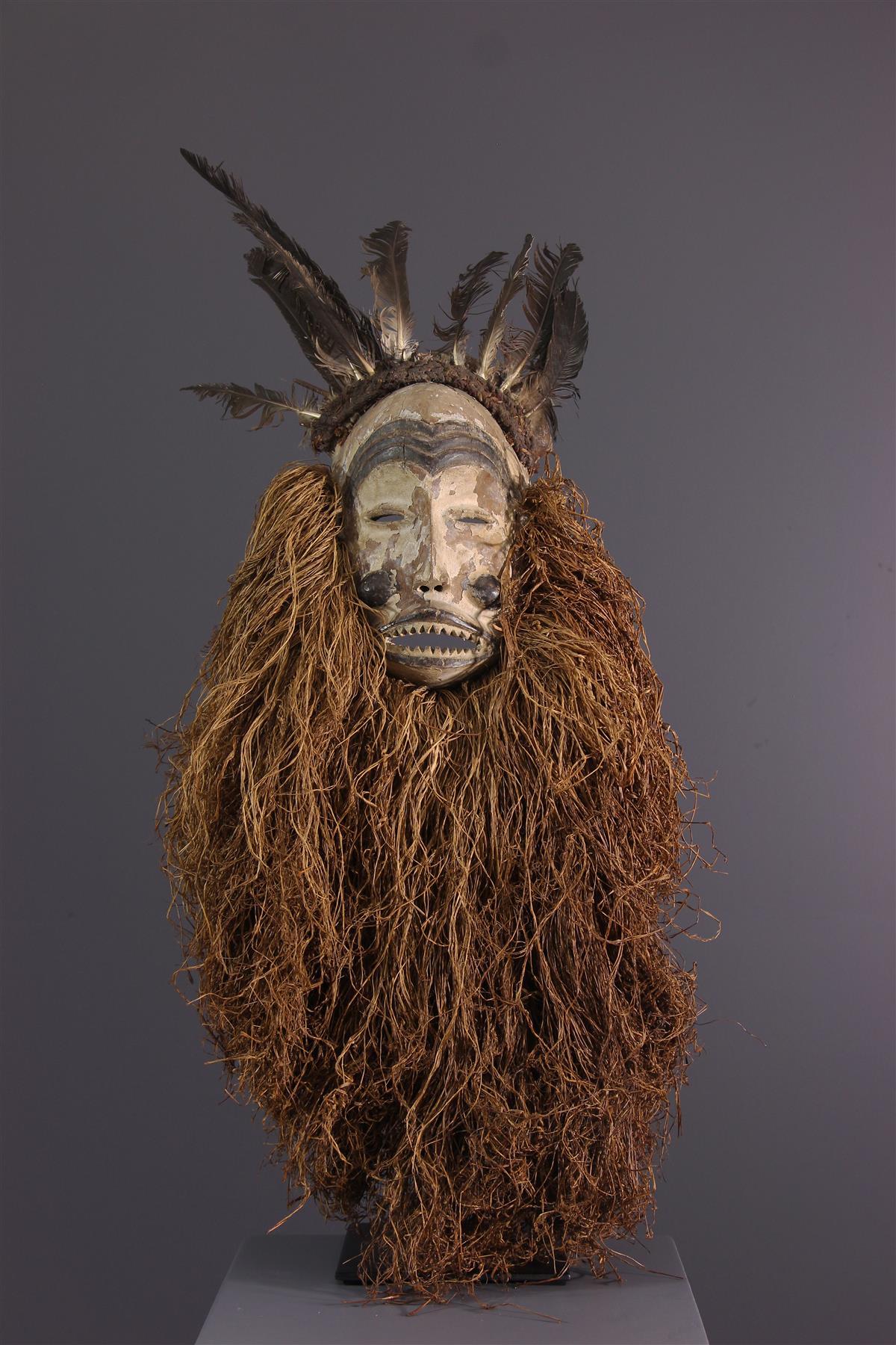 Mbunda Mask - Tribal art