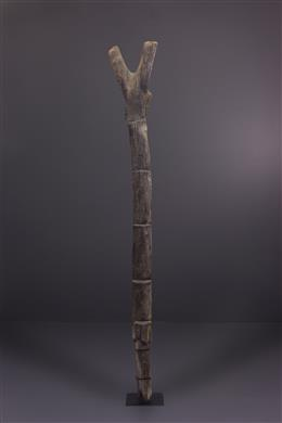 Tribal art - Dogon Mil Attic ladder
