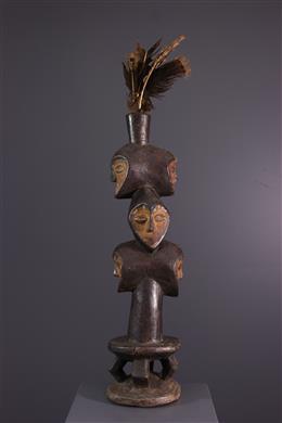 Tribal art - Lega Bwami Salimatwematwe statue