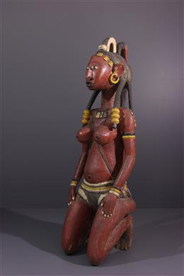 Tribal art - Female figure Baga
