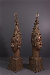 bronze africainBenin Heads