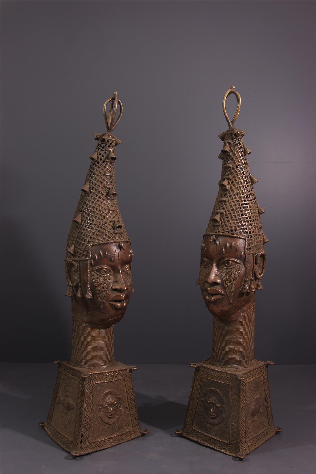 Benin Heads - Tribal art