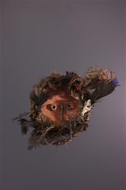 Tribal art - Small pende Gitenga mask