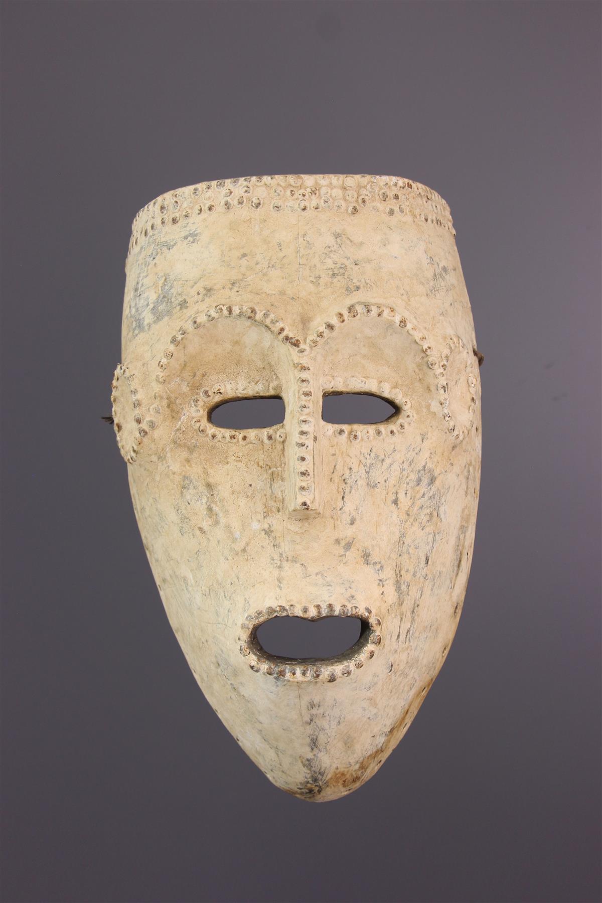 Masque Kumu - Tribal art