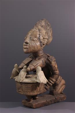 Tribal art - Olumèye Yoruba Cutting Carrier