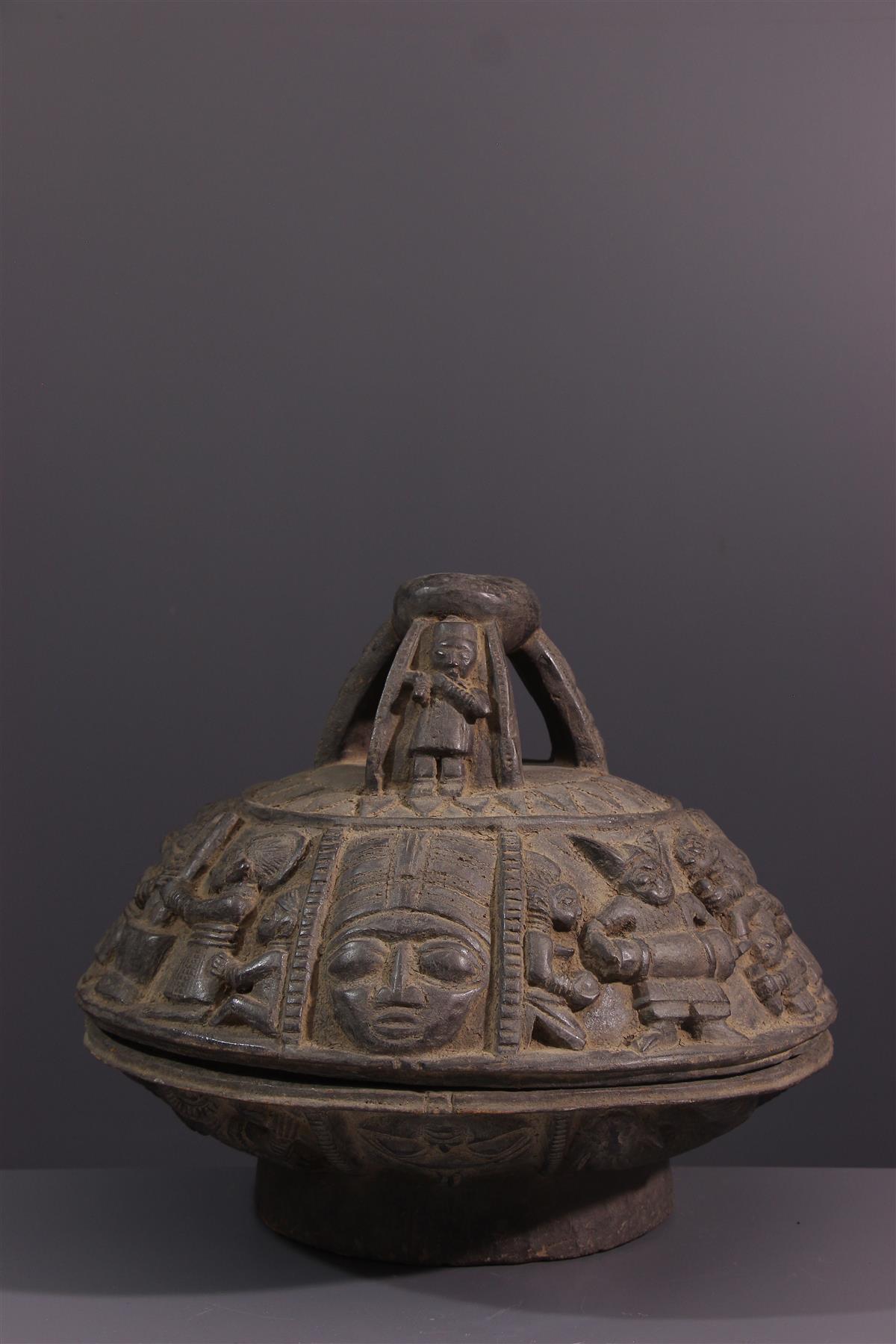 Coupe Ifa - Tribal art