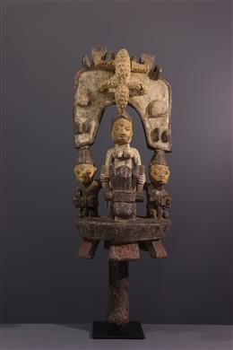 Tribal art - Altar sculpture Yoruba Osé sango
