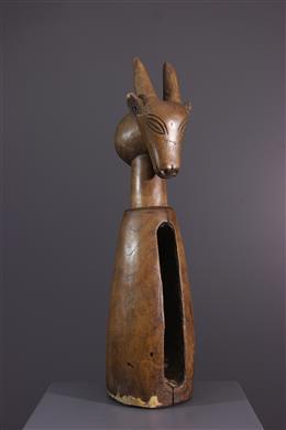 Tribal art - Suku Nko-nku Slot Drum