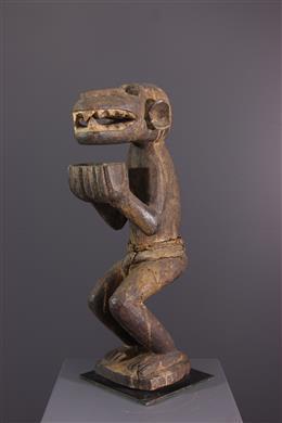 Figure de singe Baule Aboya / Mbotumbo