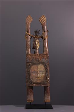 Tribal art - Anthropomorphic figure Kongo Nkisi