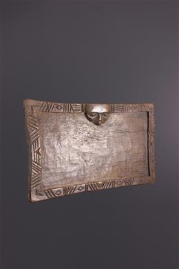 Tribal art - Yoruba divination tray Onigunmerin