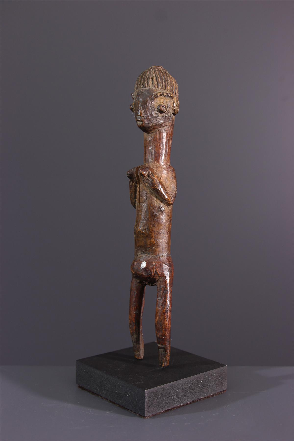Yoruba statuette - Tribal art