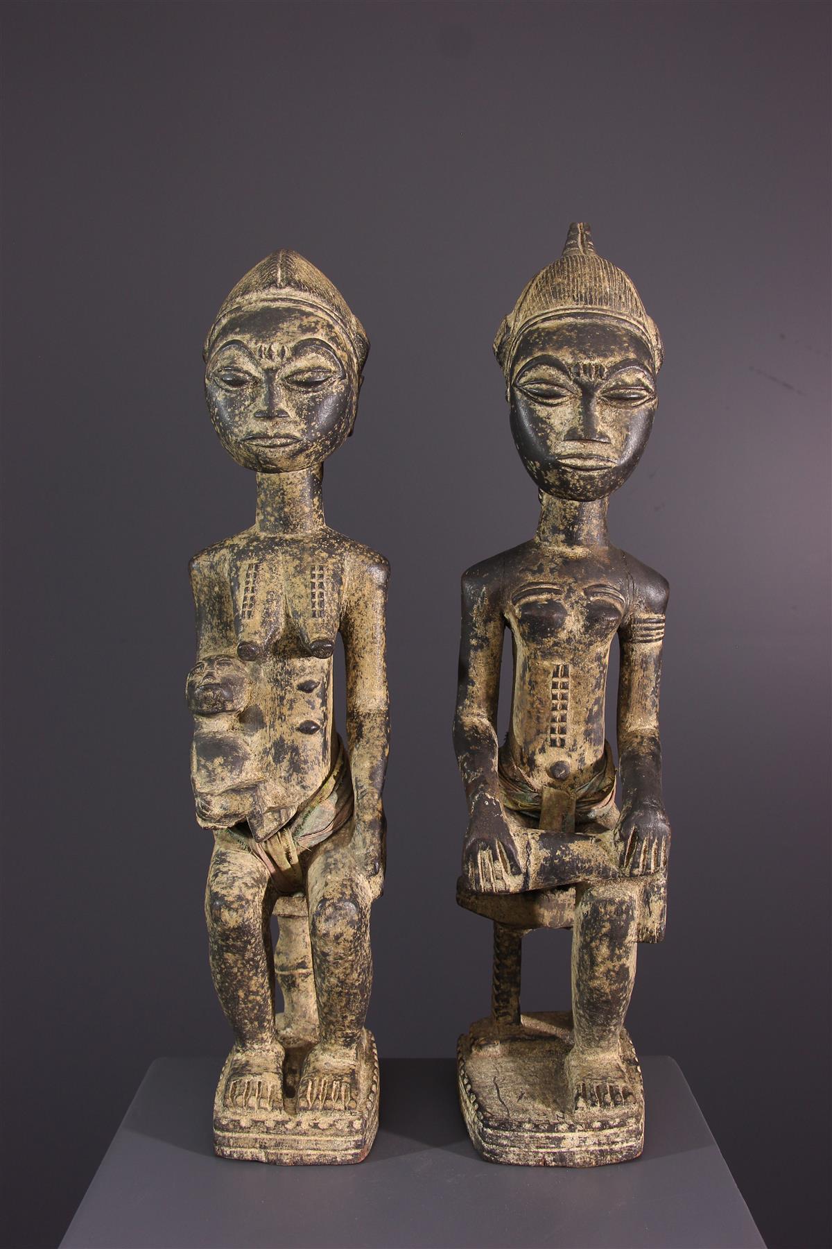 Baule Statue - Tribal art