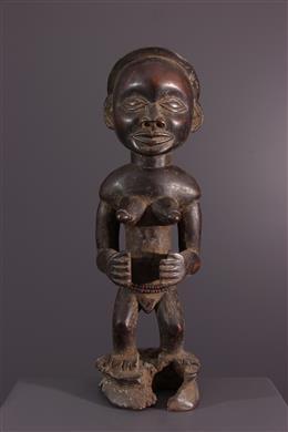 Chokwe female statue