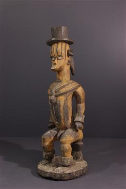 Figure of deity Urhobo