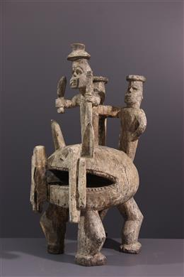Igala Shrine Figure