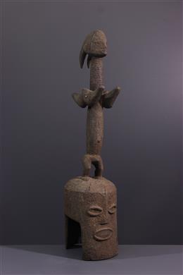 Tribal art - Kaka altar mask