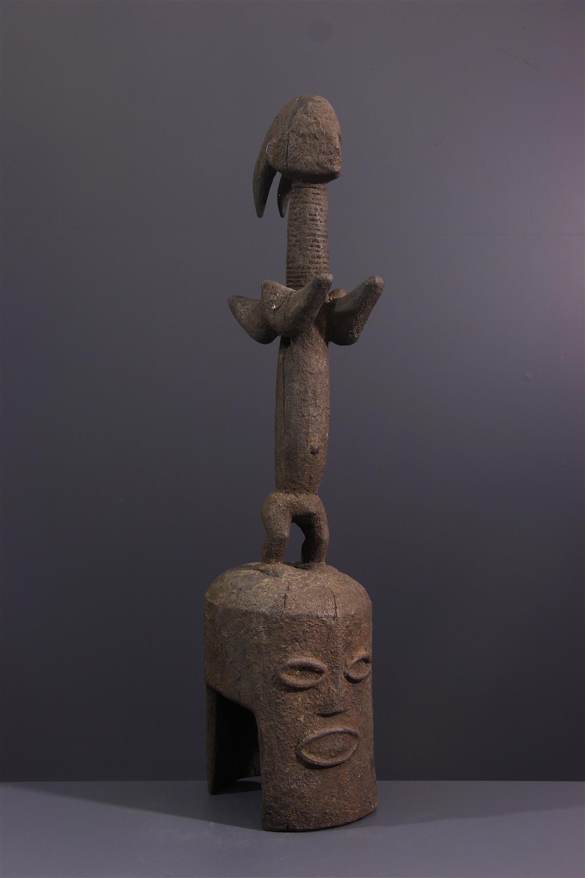 Kaka Mask - Tribal art