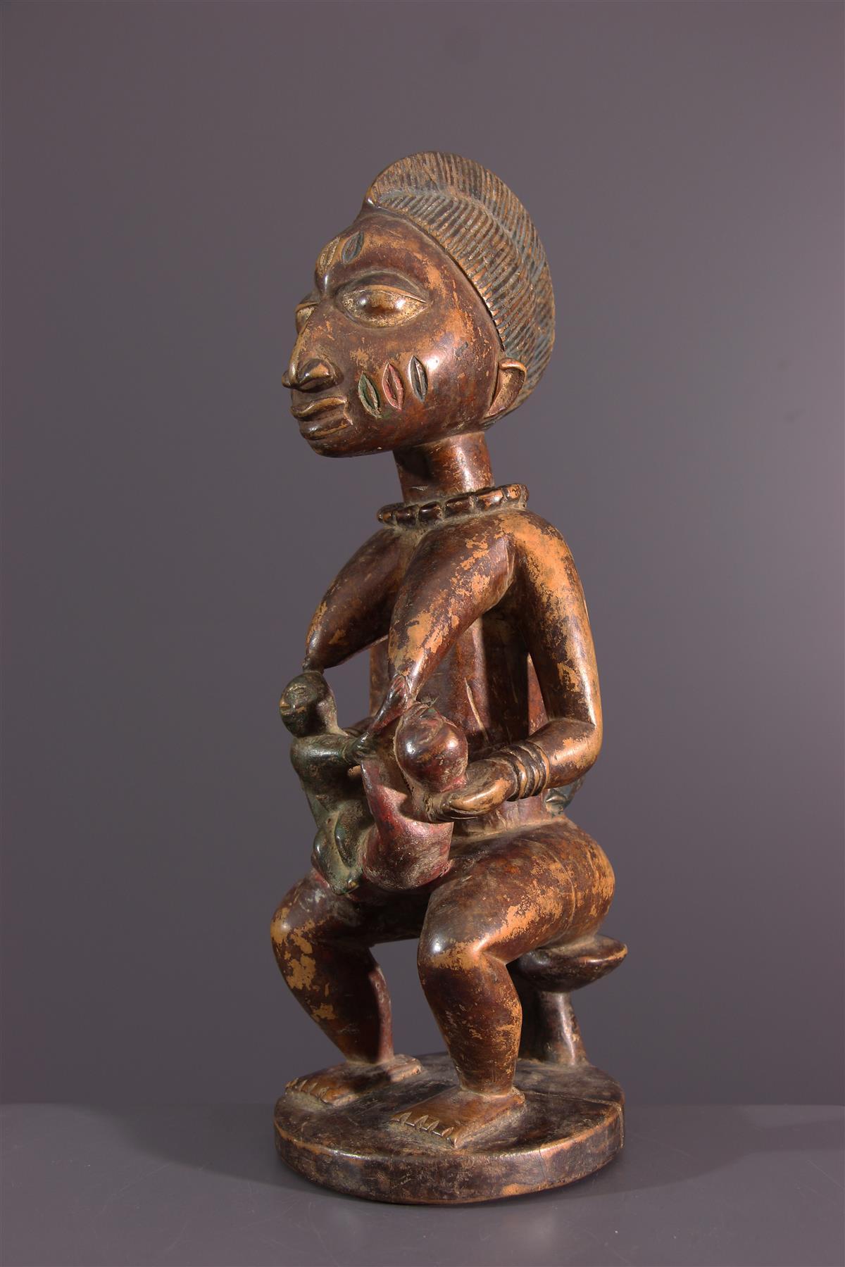 Yoruba figure - Tribal art