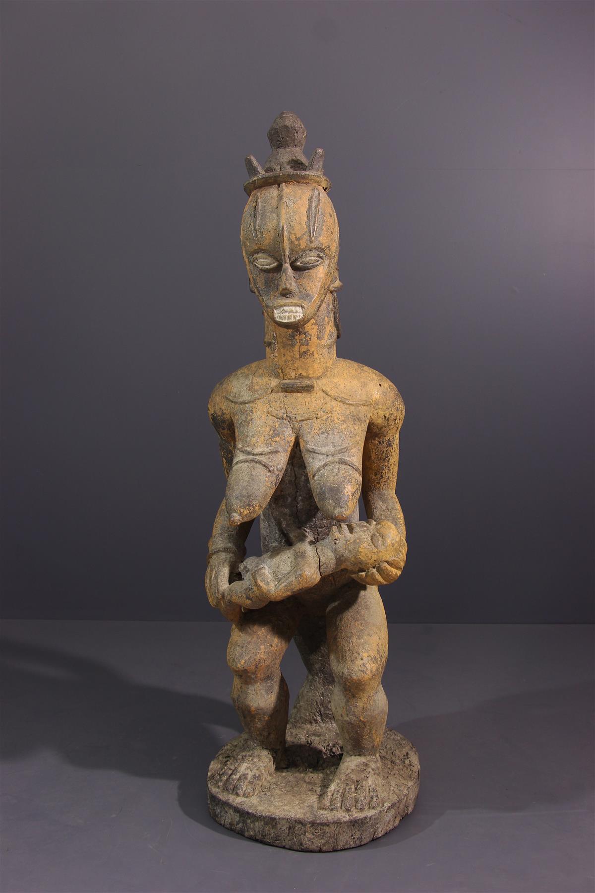 Statue Urhobo - Tribal art