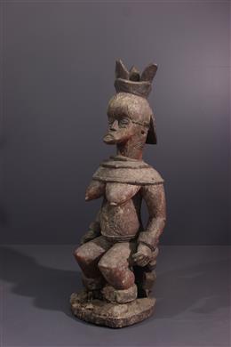 Tribal art - Statue Urhobo Edjo