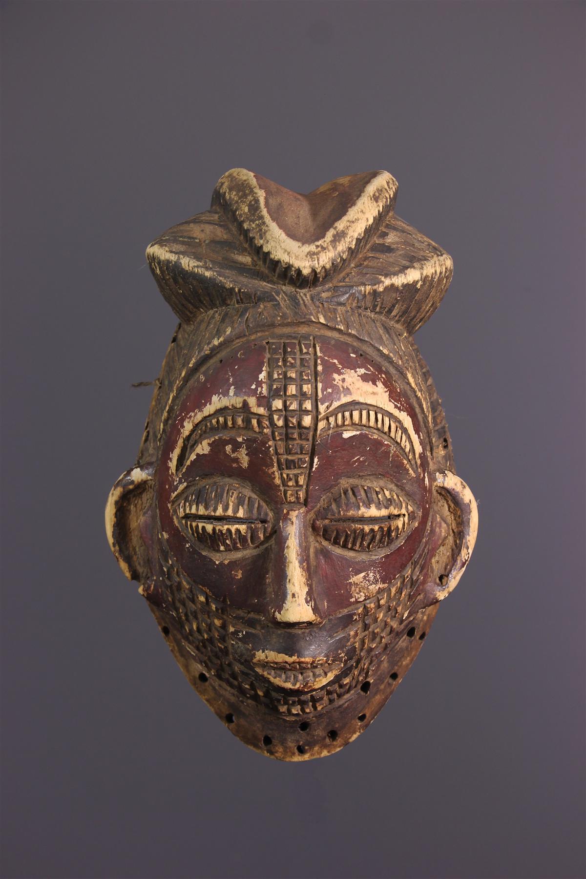 Punu Mask - Tribal art