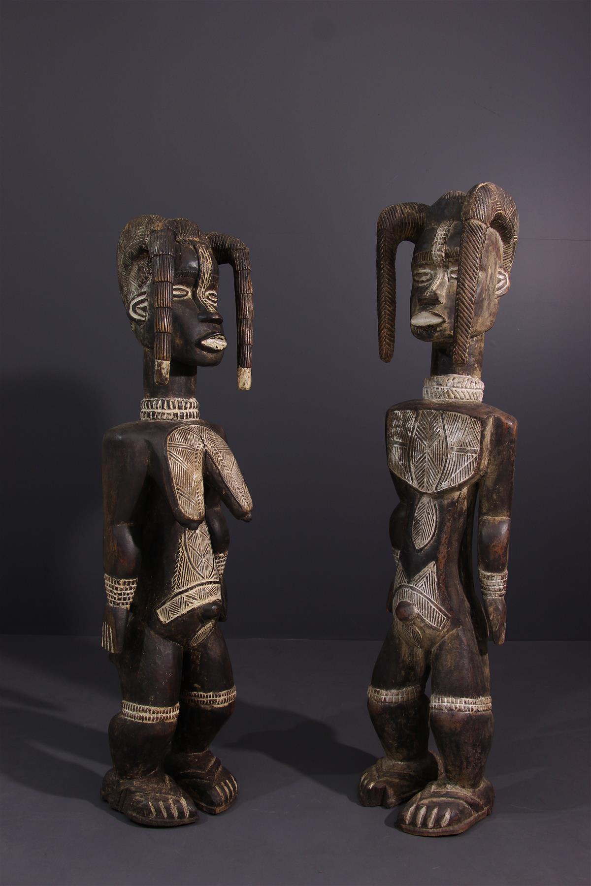 Dan statues - Tribal art