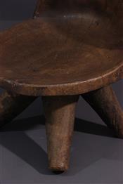 Tabourets, chaises, trônesMangbetu Seat