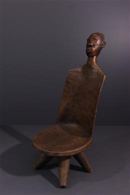 Tribal art - Mangbetu prestige chair