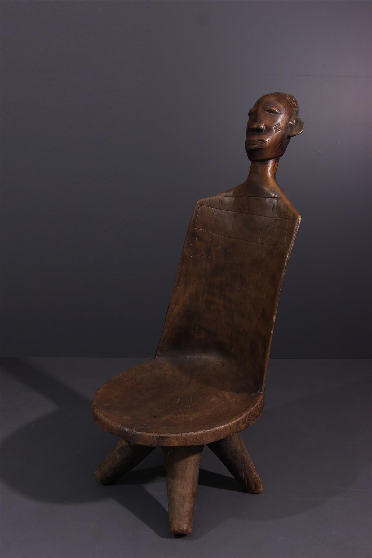 Mangbetu Seat - Tribal art