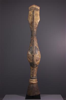 Tribal art - Baga Bansonyi Snake Mask