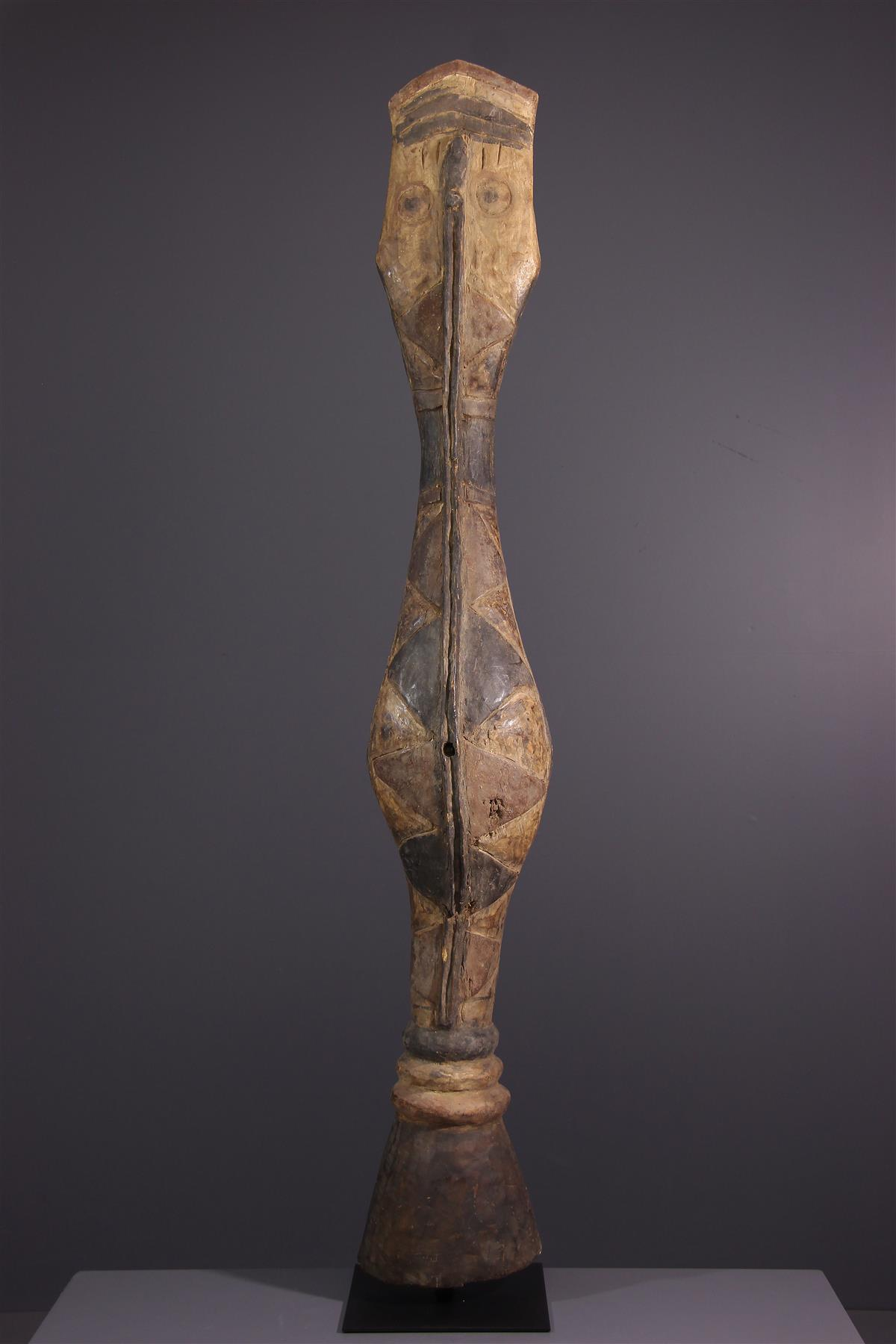 Snake Baga - Tribal art
