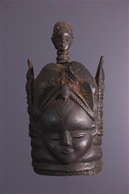 Tribal art - Mende Bundu/Sowei mask