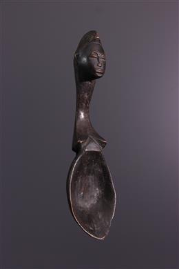 Baoulé ritual spoon
