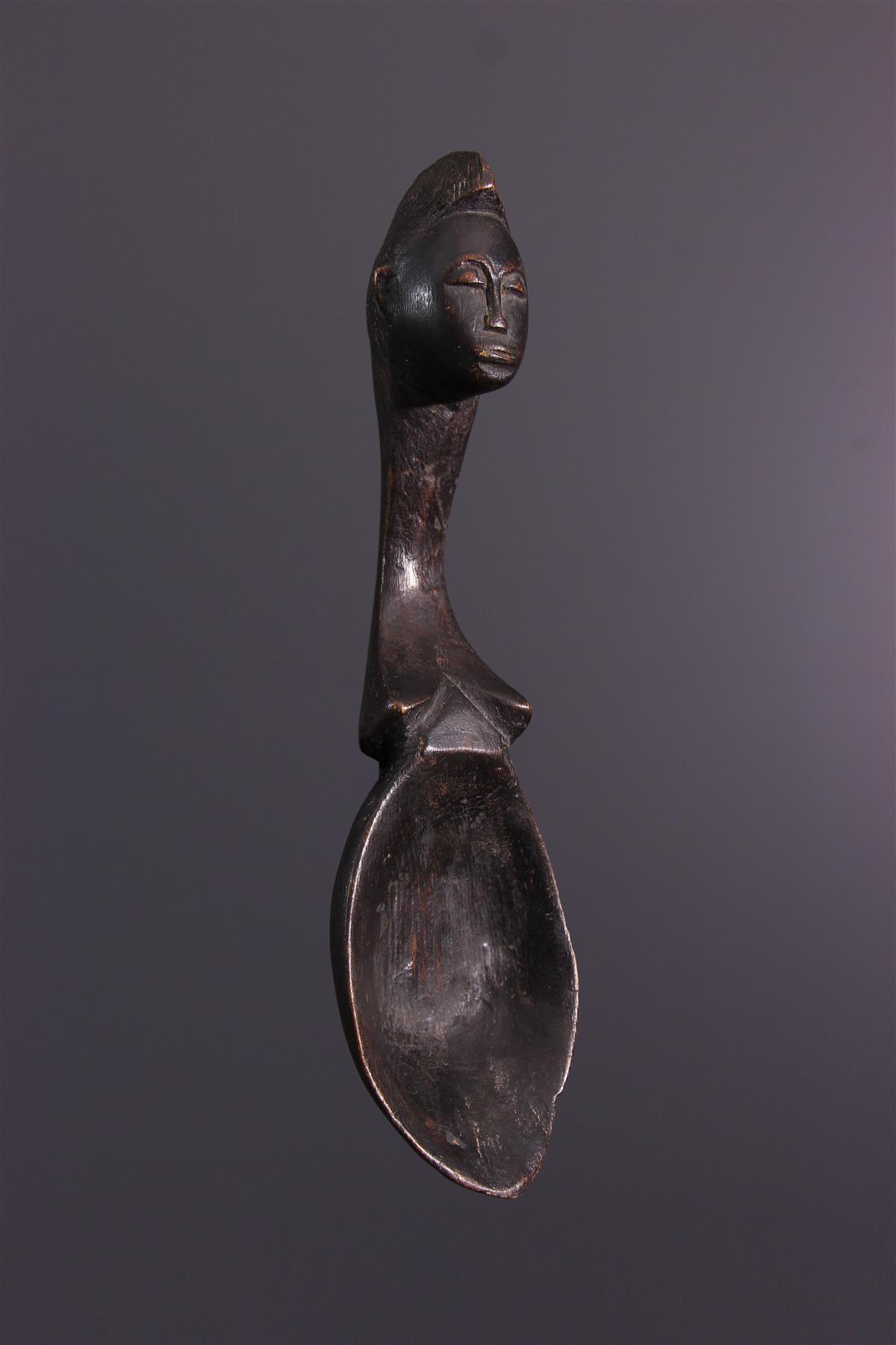Baule Spoon - Tribal art