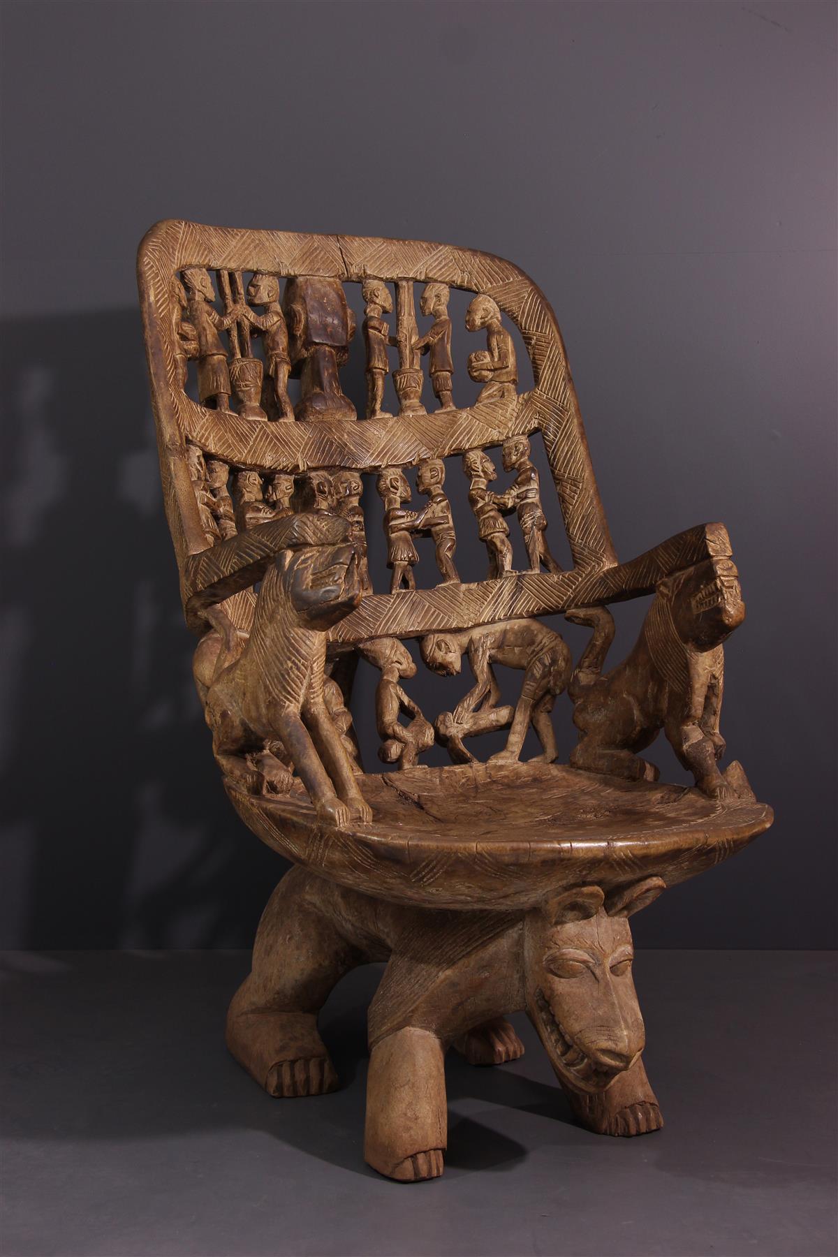 Dogon Seat - Tribal art