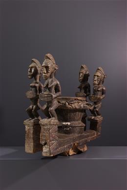 Tribal art - Baoule ritual drum