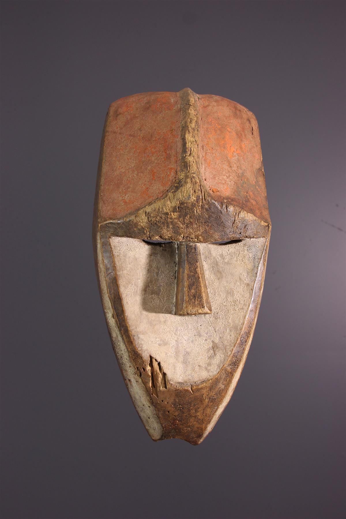 Kwele Mask - Tribal art