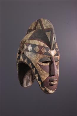 Tribal art - Bobo janiform mask