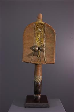 Tribal art - Figure of reliquary Kota Mahongwe