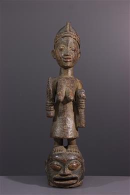 Tribal art - Epa Yoruba Mask